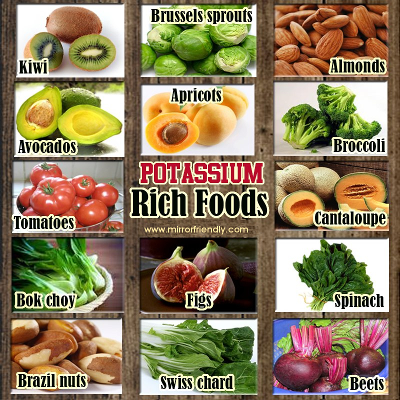potassium foods rich water food milk sources magnesium retention diet examples calcium fruits natural health dishes stroke risk aries faqs